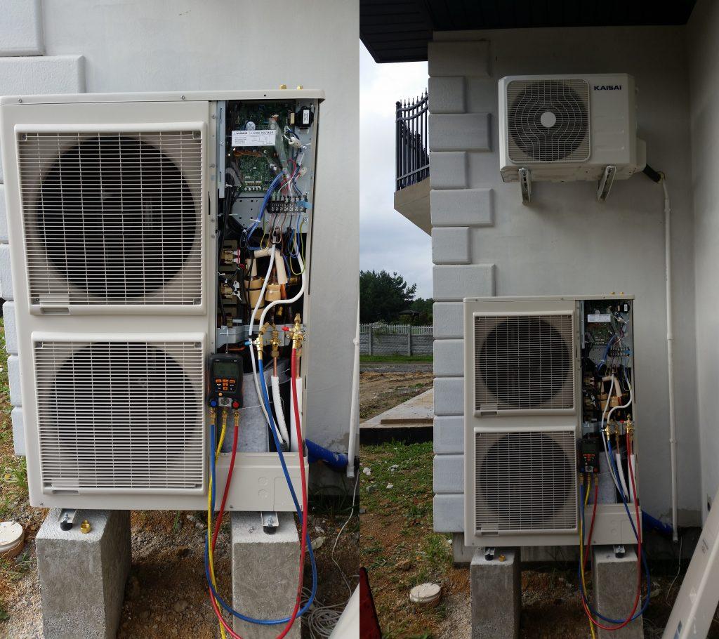 Pompa ciepła Atlantic  Fujitsu DUO  powietrze woda2