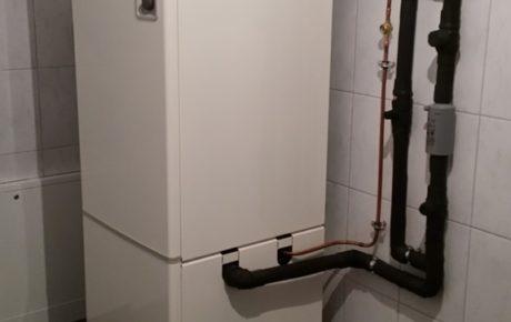 Używana pompa ciepła Nibe