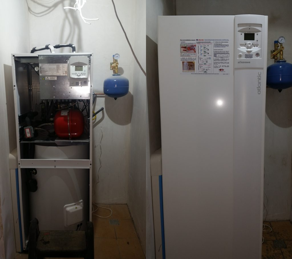 Pompa ciepła Atlantic  Fujitsu DUO  powietrze woda1