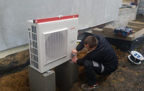 Pompa ciepła Atlantic montaż Olbrachtów